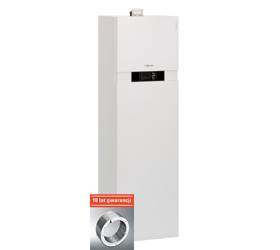 VITODENS 343-F kondensacyjna centrala grzewcza z zabudowanym zasobnikiem solarnym 220 litrów