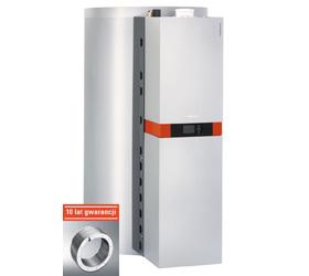 VITOSOLAR 300-F kondensacyjna centrala grzewcza do solarnego wspomagania ogrzewania budynku i wody użytkowej